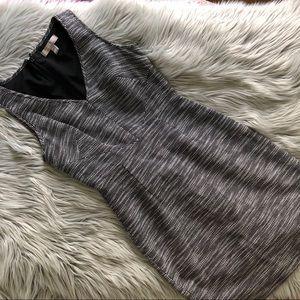 Banana Republic Structured Textured Sheath Dress